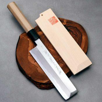 """סכין ירקות אוסובה (Edo Usuba) יאמאוואקי 180מ""""מ Aogami#2"""