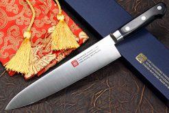 """סכין שף (גיוטו) יאמאוואקי 240מ""""מ AUS8"""