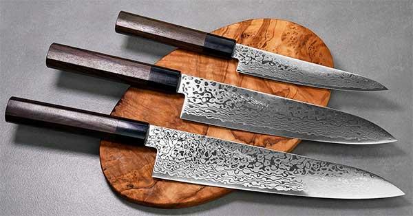 סכיני שף יפניים מבית יאמאוואקי - סדרת ZA18