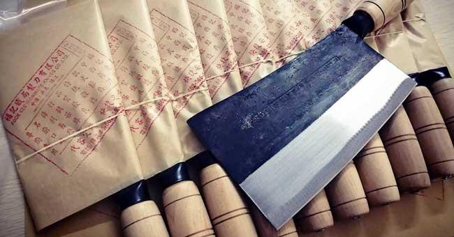 סכיני מטבח סיניים מסורתיים מבית פוק קיי