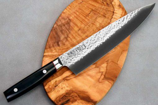 """סכין שף (גיוטו) קאנצ'וגו 230מ""""מ VG10"""