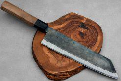 """סכין שף (קיריצוקא) יושידה 240מ""""מ ZDP-189 שחור"""