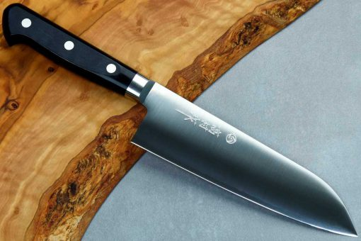 """סכין סנטוקו טאקאמורה 210מ""""מ VG10 חלק"""