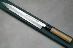 """סכין סושי (יאנאגיבה) יאמאוואקי 270מ""""מ Aogami#2 יד שמאל"""