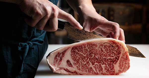סכין חיתוך בשר פורס נתח ואגיו