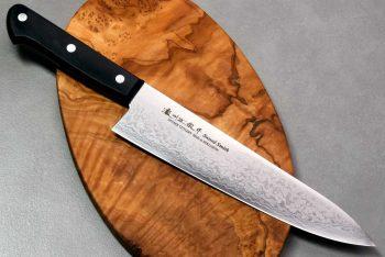 """סכין שף (גיוטו) סאטאקה 210מ""""מ VG10"""