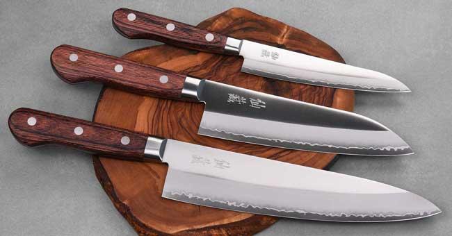 סכיני סאנקראפט - סדרת AUS10