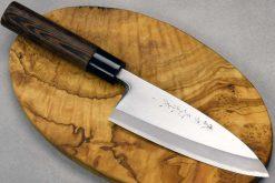 """סכין פילוט דגים (דבה) סאטאקה 150מ""""מ Aogami#2"""