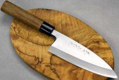 """סכין פילוט דגים (דבה) סאטאקה 165מ""""מ Aogami#2"""