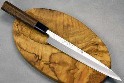 """סכין סושי (יאנאגיבה) סאטאקה 210מ""""מ Aogami#2"""