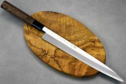 """סכין סושי (יאנאגיבה) סאטאקה 270מ""""מ Aogami#2"""