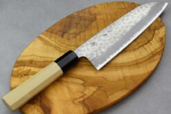 """סכין סנטוקו טוסה 165מ""""מ Aogami Super כסוף"""
