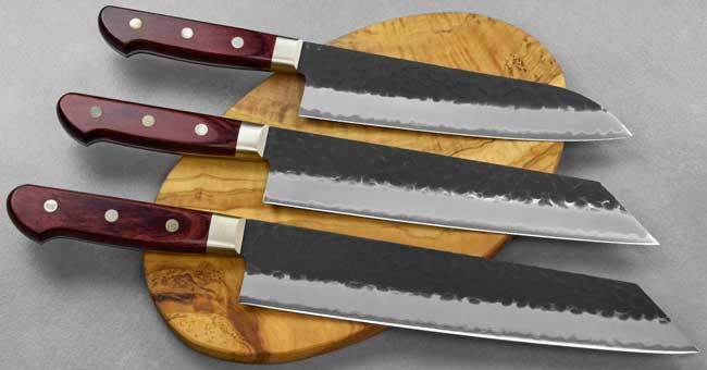 טוסה סכיני שף - סדרת Aogami super שחור