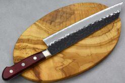 """סכין שף (קיריצוקא) טוסה 210מ""""מ Aogami Super שחור"""