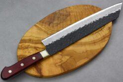 """סכין שף (קיריצוקא) טוסה 240מ""""מ Aogami Super שחור"""
