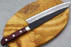 """סכין סנטוקו טוסה 180מ""""מ Aogami Super שחור"""