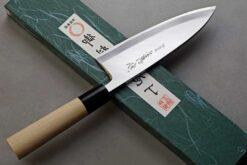 """סכין פילוט דגים (דבה) יאמאוואקי 165מ""""מ Shirogami#2 יד שמאל"""