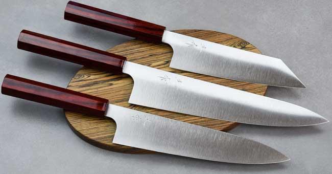 סכיני שף מבית קיי קובאיאשי - סדרת SG2 RH