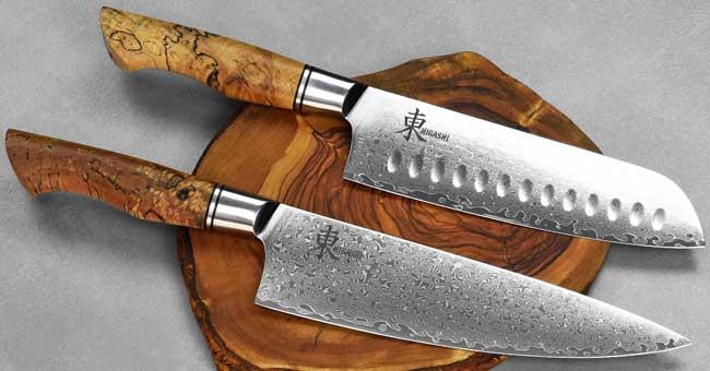 סכיני שף מבית היגאשי - סדרת Splated