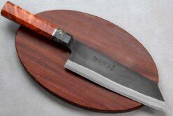 """סכין שף (בונקה) יושידה 190מ""""מ HAP40 שחור"""