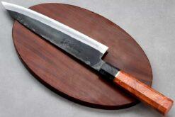 """סכין שף (גיוטו) יושידה 210מ""""מ HAP40 שחור"""