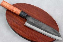 """סכין שף (סנטוקו) יושידה 180מ""""מ HAP40 שחור"""