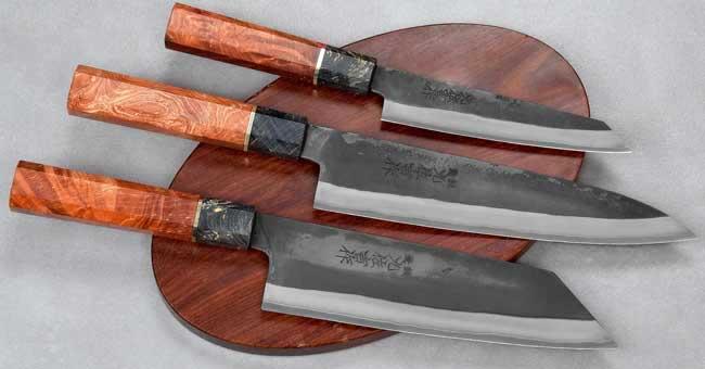 סכיני שף יפניים מבית יושידה מסדרת HAP40
