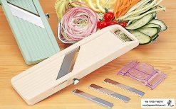 """מנדולינה יפנית Benriner לחיתוך ירקות 95 מ""""מ"""