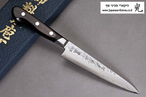 """סכין עזר (פטי) קאנצון 135מ""""מ Aogami#2"""