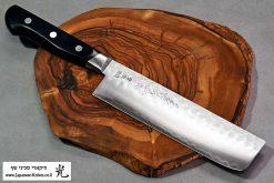 """סכין ירקות (נקירי) קאנצון 165מ""""מ Aogami#2"""