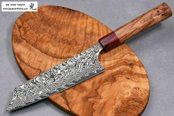 """סכין שף (בונקה) הירושי קאטו 170מ""""מ SG2 דמשק"""
