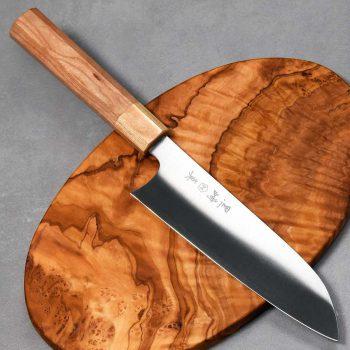 """סכין שף (סנטוקו) מאקוטו 165מ""""מ SG2 Ad 1:1"""