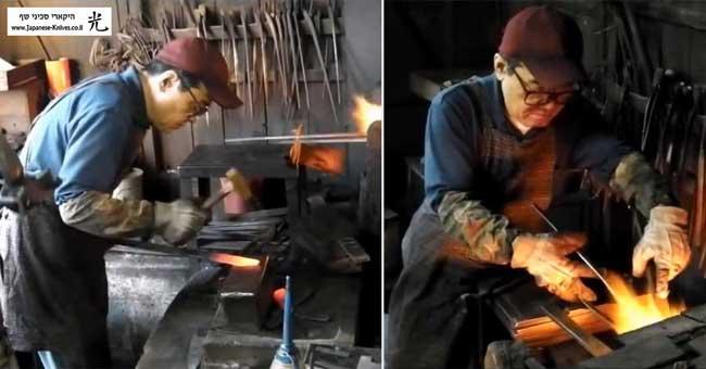 סכיני שף בעבודת יד של מיצ'יו אישיקאווה