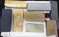 שירות השחזה מקצועית לסכין על גבי אבני מים יפניות טבעיות
