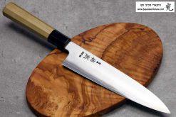 """סכין שף (גיוטו) סוקנארי 210מ""""מ HAP40 חלק"""