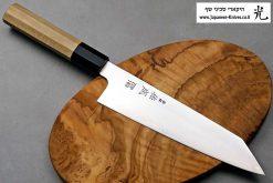"""סכין שף (קיריצ'וקא) סוקנארי 210מ""""מ ZDP-189 חלק"""