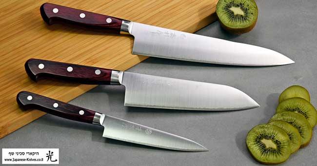 סכיני שף מבית טאקאמורה - סדרת SG2