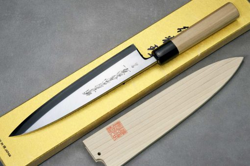 """סכין פילוט דגים (מיורושי דבה) יאמאוואקי 210מ""""מ Aogami#2"""