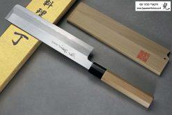 """סכין ירקות יוסובה (Edo Usuba) יאמאוואקי 180מ""""מ Shirogami#2"""