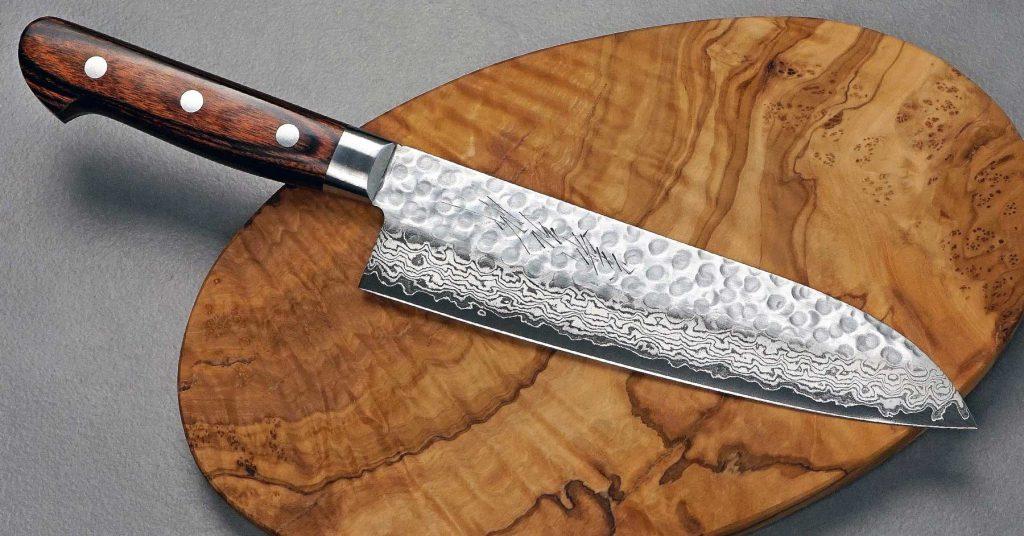 סכין סנטוקו יפני מבית יאמאוואקי