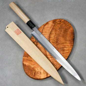 """סכין סושי (יאנאגיבה) יאמאוואקי 270מ""""מ Aogami#2"""