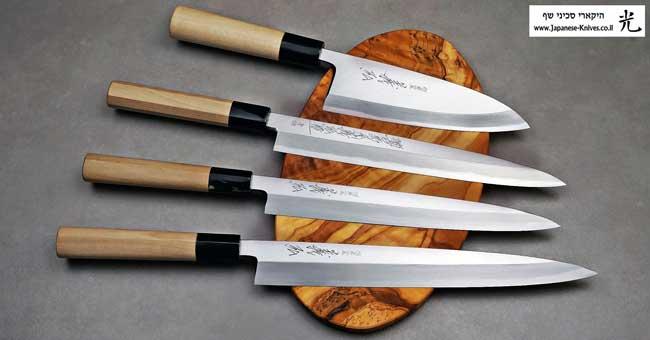 סכינים יפניים מסורתיים מבית יאמאוואקי