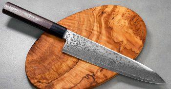 """סכין שף (גיוטו) יאמאוואקי 210מ""""מ ZA18 Ad 1:1.91"""