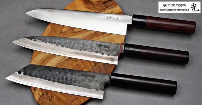 סכיני שף יפניים מבית יושידה